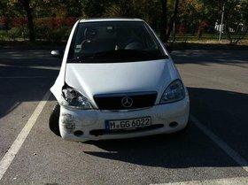 Mercedes A Klasse (Unfallwagen) niedriger Kilometerstand
