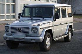 Mercedes G 300TD Klima Standheizung Leder ESD Tempomat AHK 3,5T