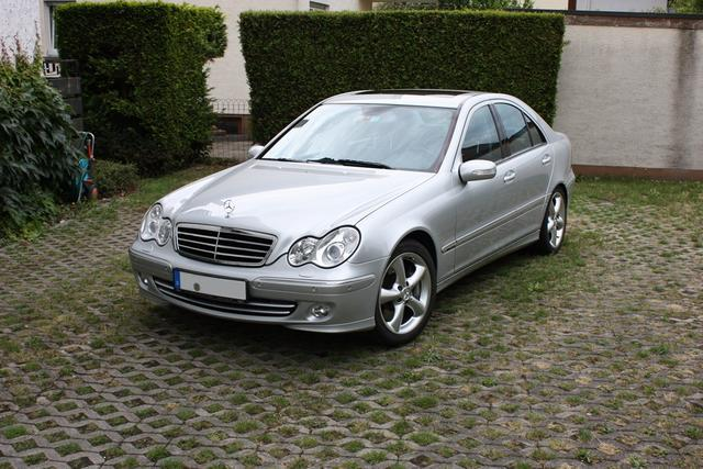 Mercedes-Benz C350 Sport Paket Evolution Silber