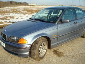 BMW 320 Diesel stahlblau-metallic