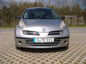 Nissan Micra 1,2 mit Klima, silbermetallic,  Alu, Garagenfahrzeug, aus 1. Hand