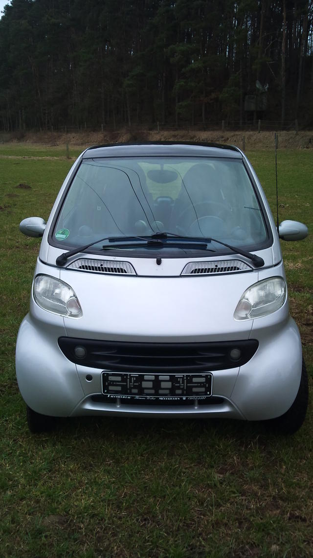 Sehr schicker Smart Fortwo passion