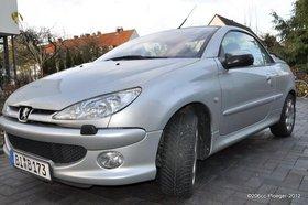 Super Sommerfeeling im Peugeot 206 CC Platinum 135 - LEDER - KLIMAAUTOMATK