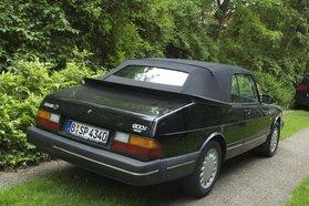 Saab 900i Cabrio wg. Familiengründung abzugeben