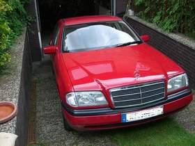 Mercedes C 220 D, 132.000 km, erste Hand (KFZ-Handwerker)