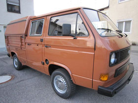 VW Transporter DOKA  1.Hd- NUR  55000Km-Liebhaber