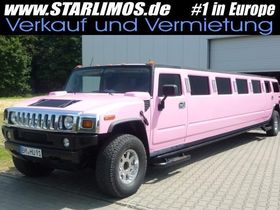 HUMMER H2 PINK Stretchlimousine Stretch-Limousine