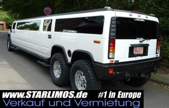 HUMMER H2 Stretch Limousine 3 Achsen Tandem TÜV