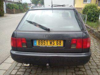 Audi A6 Avant Quattro ,zum Richten oder Export  nach F,da französische Zulassung