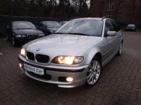 BMW 320d touring, E46, M Optik, Leder, Navi,  Klimaa