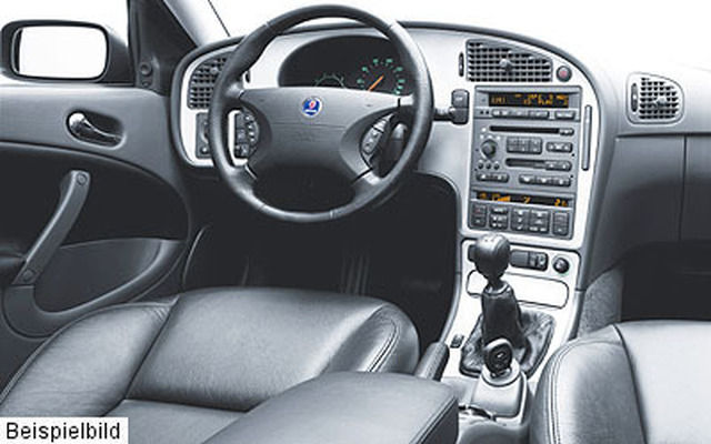 Saab 9-5 3.0 TiD Vector Sport-Kombi, Teilleder, Sitzh