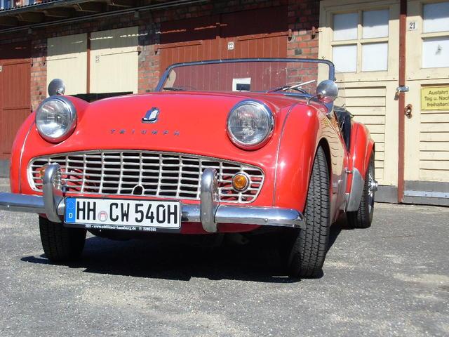 Triumph TR3 Liebhaberfahrzeug