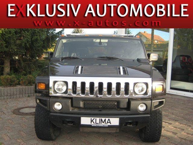 Hummer H2 --Black Edition-- Aut. Leder+Vollausstattung