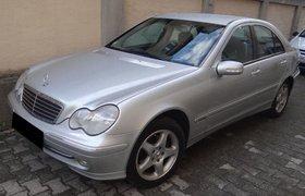 Mercedes-Benz C220 CDI Avantgarde silber-metallic 105 kW