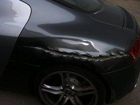 Audi R8 Super wagen super zustand auser denn schaden wie zu sehn