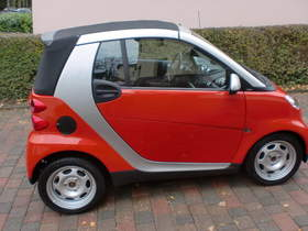 Smart Fortwo Cabrio rot, viele Extras