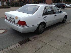 Mercedes 420 Automatik Weiss -1.Hd. Liebhaber/Sammlerstück 210kW,Krankh-tshalbr.