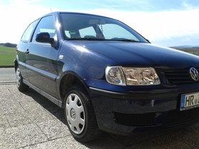 VW Polo 6N dunkelblau