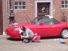 Fiat Barchetta Cabrio / Roadster Rot Metallic