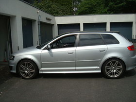 Audi S3 Sportback 2.0 TFSI QUATTRO 195(265) KW(PS) 6-GANG EISSILBER METALLIC