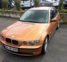 GELEGENHEIT! BMW 316 TI opt.einwdfr, m. Motorschad. (reparat.fertig)z.Vk.