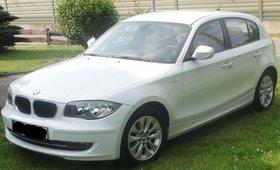 # Fescher BMW 116er in WEISS zu erwerben!!! 21.200km # UNFALLFREI!!!! #