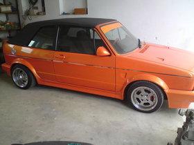 Golf 1 Cabrio Typ 155 mit 21000€ Wertgutachten!!!!!