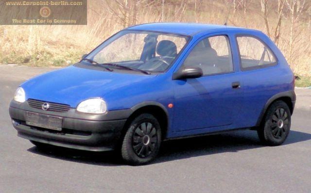 OPEL Corsa Special 118TKM,Airbag,Radio
