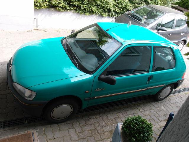 Peugeot 106 Sketch + Allwetterreifen
