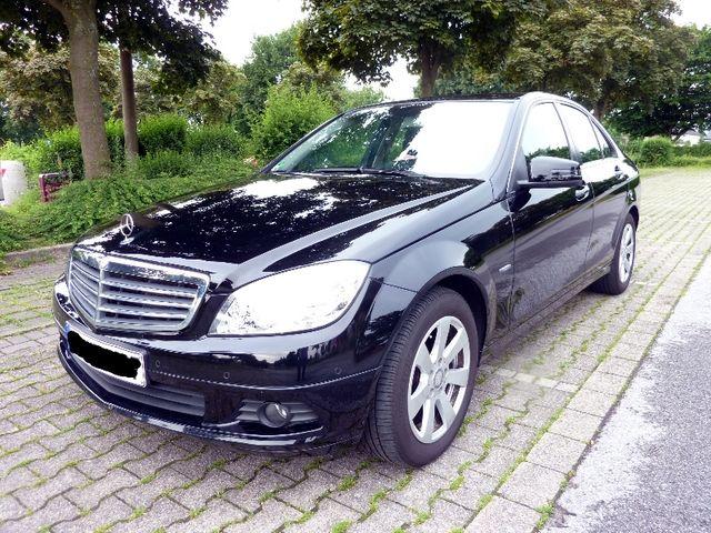 Mercedes-Benz C 180 CGI, Schwarz, BlueEFFICIENCY