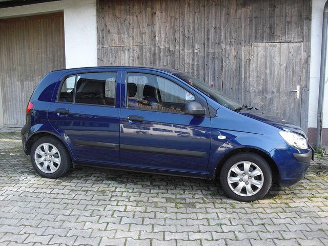 Hyundai Getz 1.1 Tüv/Bremsen Neu 5trg. wenig KM checkheft gepflegt 8fach bereift