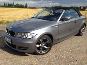 BMW 120d Cabrio Diesel - sehr gepflegter Zustand
