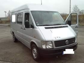 VW LT Bus, Klima, Standheizung, el FH, El. Sp., Sound, 2. Hand