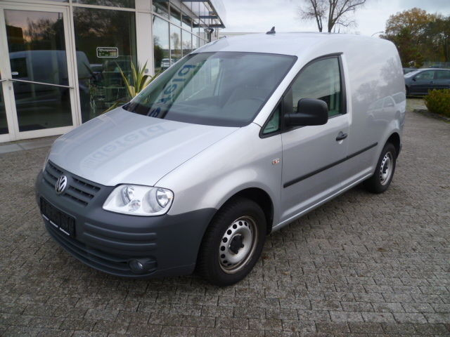 VW Caddy 2.0 EcoFuel 1. Hand Klima Navi ASR CD MP3