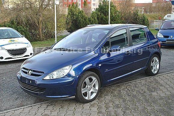 PEUGEOT 307 HDi 135 Premium 1.Hand Klimaauto.