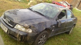 Audi A4 Unfallwagen