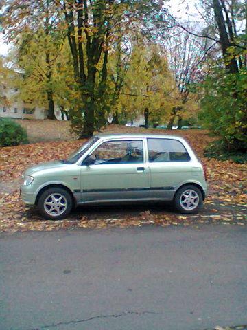 Daihatsu Cuore L7 GLX  Nebelscheinwerfer TÜV  E - Fenster  E - Spiegel  DZM
