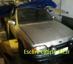 """Ford Escort XR3i """"Bastlerfahrzeug"""""""