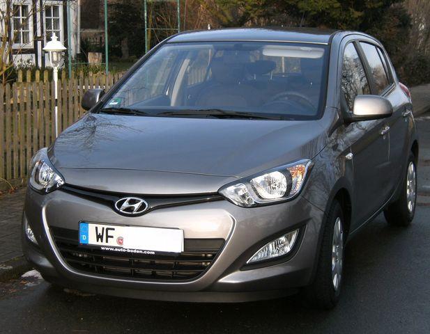 Hyundai i20 5star edition silver ausstattung