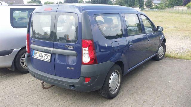 Dacia Logan MCV Benziner mit Gasanlage (Motorschaden)