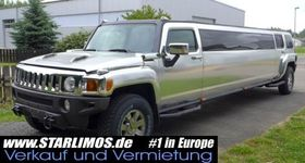 HUMMER Stretch limousine limo