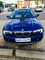 BMW 320Ci mit LIGHTBAR RÜCKLEUCHTEN  BLAU leuchtender Tacho CHROMPAKET !!!!