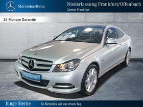 Mercedes-Benz C 180 Coupe Panoramada.Parktr.Navi.LMR17.Sitzhzg