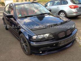 BMW 316i Orientblau  AHK-Klimaautomatik
