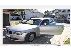 BMW 116d silber - Nichtraucher- und Garagenfahrzeug