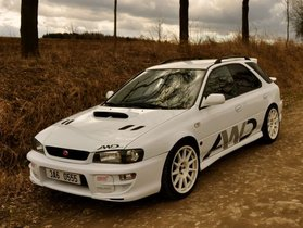 Subaru Impreza STi wagon version 6