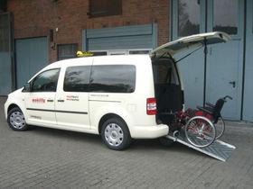 VW Caddy Maxi Trendl. DSG BlueMotion TAXI Rollstuhl