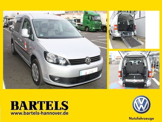 VW Caddy 1,6 TDI Maxi # Rollstuhlplatz Klima DSG