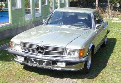 Mercedes-Benz 350 SLC Aut.