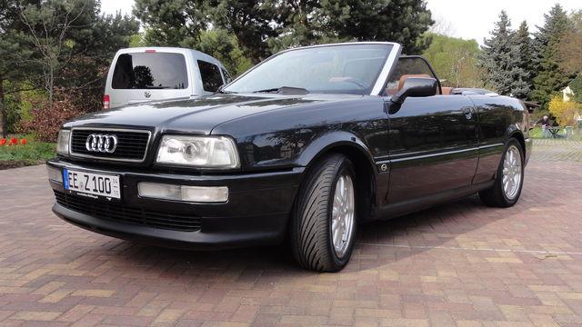 Audi Cabriolet V6 2,6 E S-Line, Lack neu, 1a Zustand